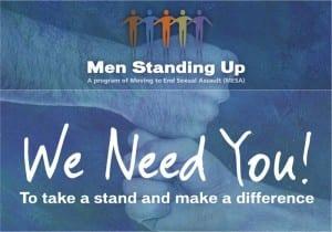men standing up